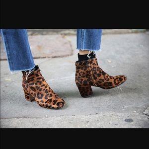 ZARA Cheetah Print Booties